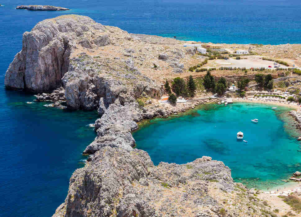 St. Pauls Bay, Rhodes, Greece