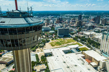 Tower of the America's San Antonio, Texas