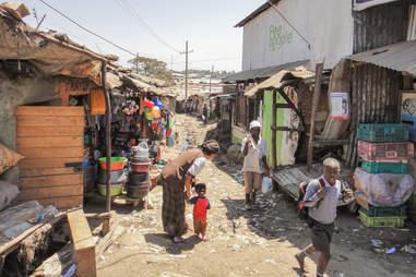 KIBERA SLUM, Nairobi, Kenya
