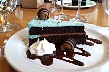 Dessert at the Ashland Springs Hotel
