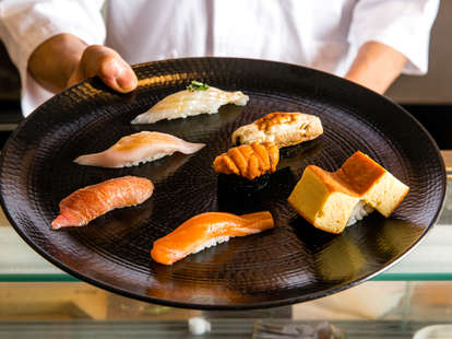 sushi chefs reveal the most over and underrated fish types nigiri shrimp egg rice salmon tuna yellow tail unagi raw
