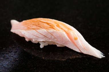 hamachi yellow tail yellowtail sashimi soy sauce sushi rice seafood