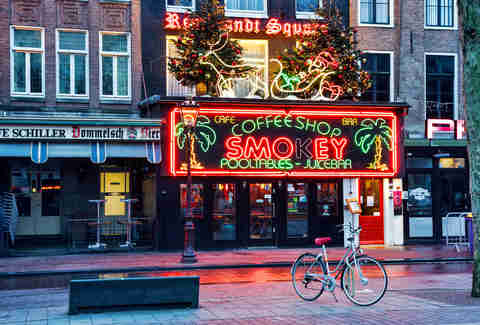 Coffeeshop Smokey in Amsterdam, Netherlands