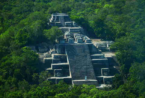 Mayan Ruins, Campeche, Mexico