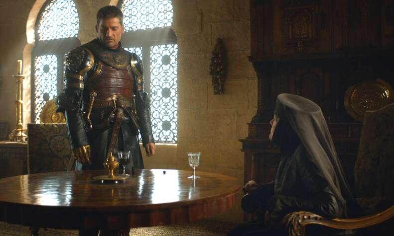 jaime game of thrones olenna tyrell season 7 episode 3
