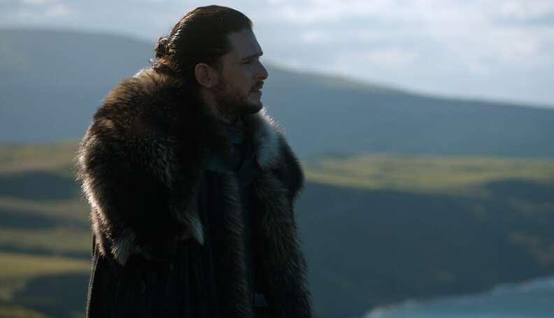 jon snow game of thrones season 7 episode 3