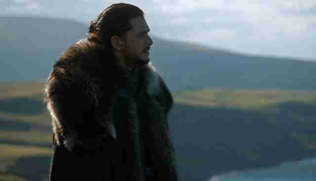 jon snow game of thrones season 7 episode 3