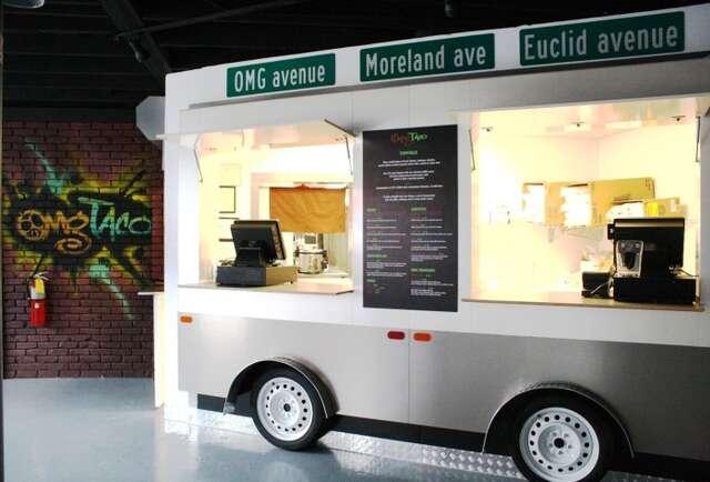 Indoor street-truck eats, for reals