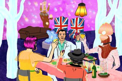 LA's Disco Dining Club