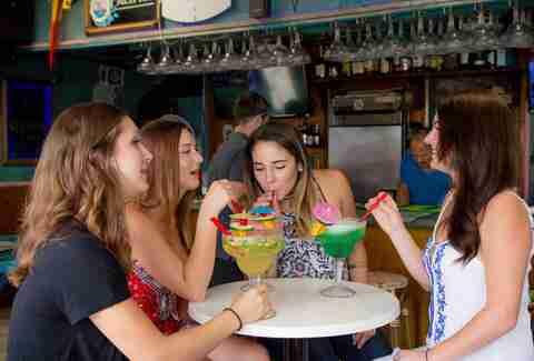 Baja Beach Cafe Drinks