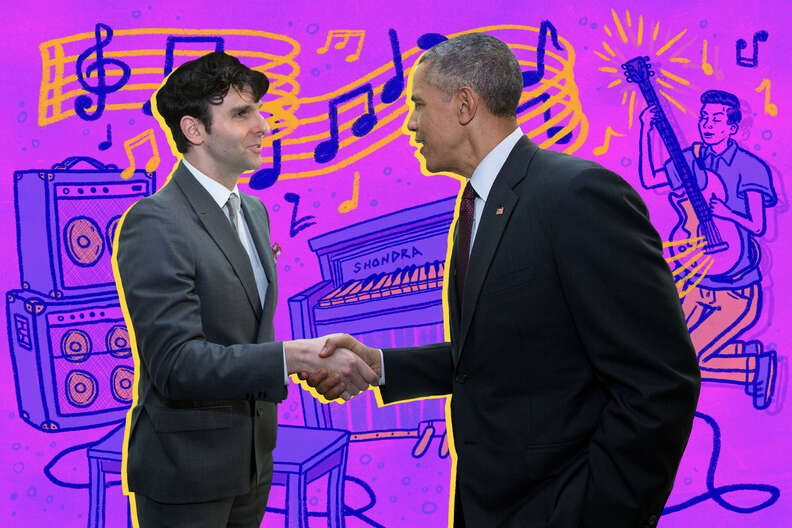 barack obama and low cut connie