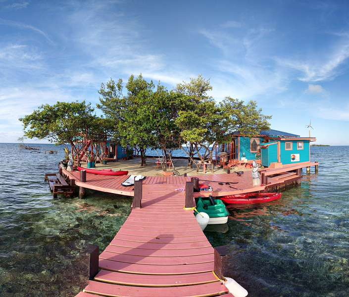 Bird Island In Placencia Belize Is The Ultimate Airbnb Listing Video Thrillist