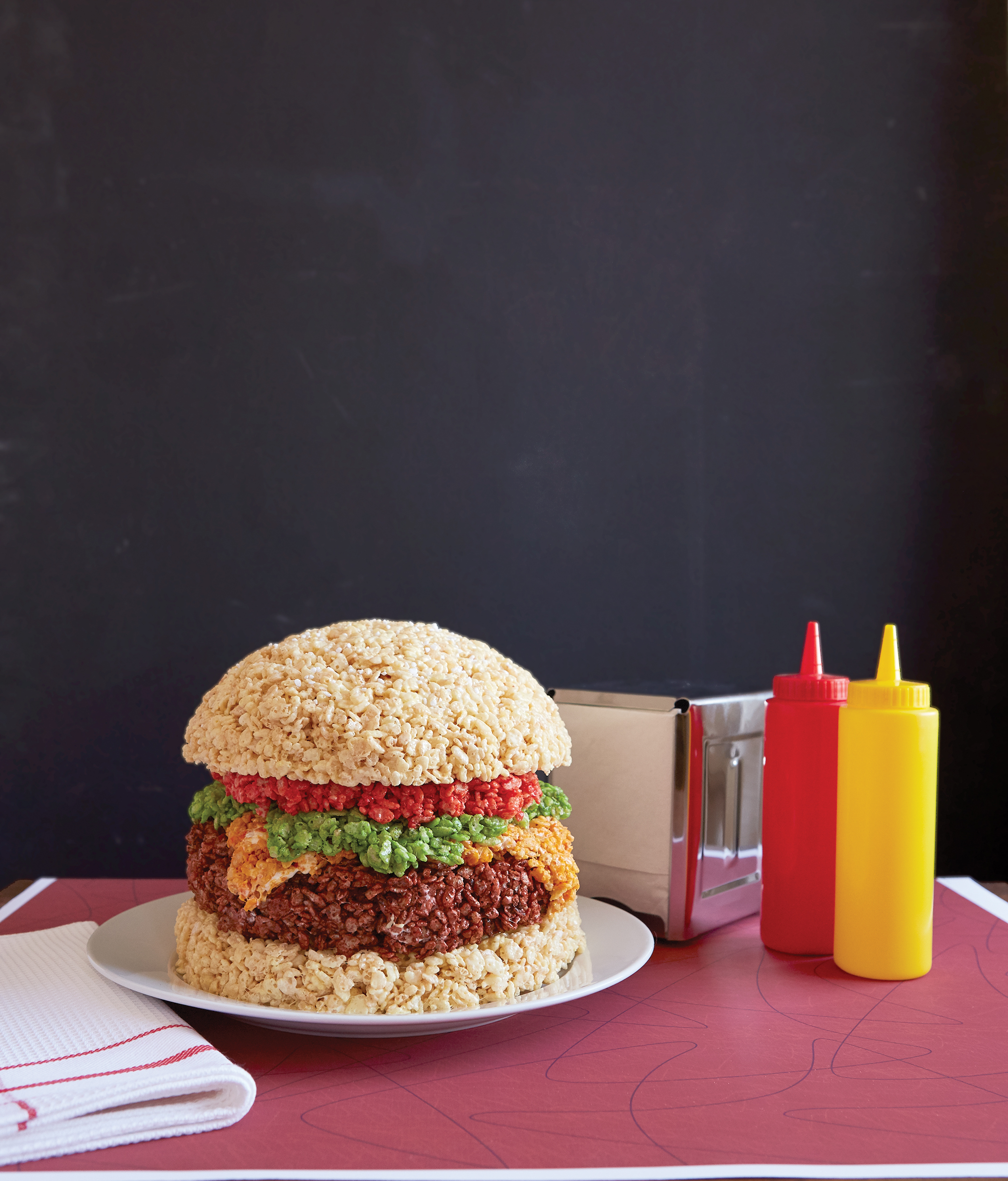 How to make rice krispies treats cheeseburgers recipe thrillist ccuart Image collections
