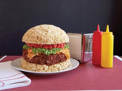 rice krispie hamburger