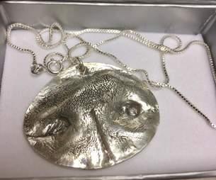 dog imprint necklace