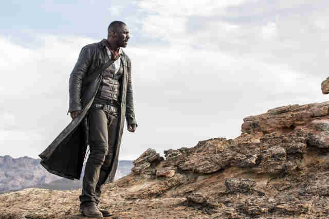 idris elba as the gunslinger in dark tower movie