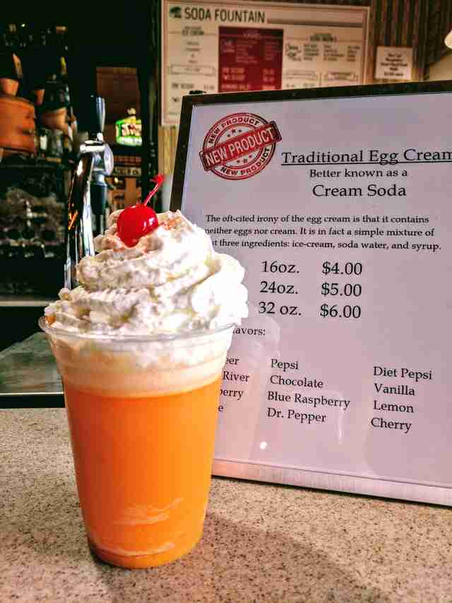 egg cream soda