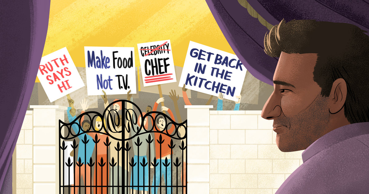 The Chef Who Wouldn't Cook: Why Rocco DiSpirito Left the Kitchen