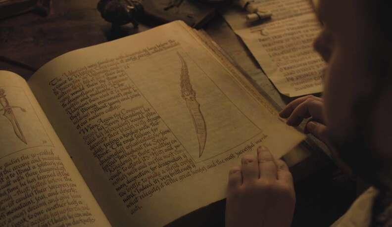dagger book game of thrones season 7 episode 1