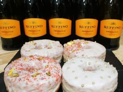 prosecco doughnuts