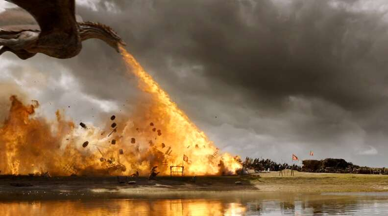 dragon attack game of thrones season 7
