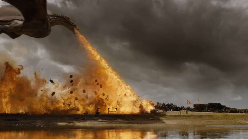 dragon fire game of thrones season 7