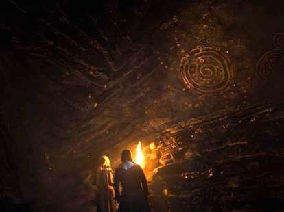 game of thrones cave paintings season 7