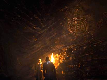 game of thrones cave paintings season 7