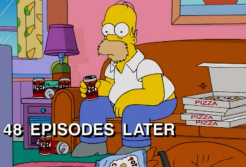 simpsons binge watching