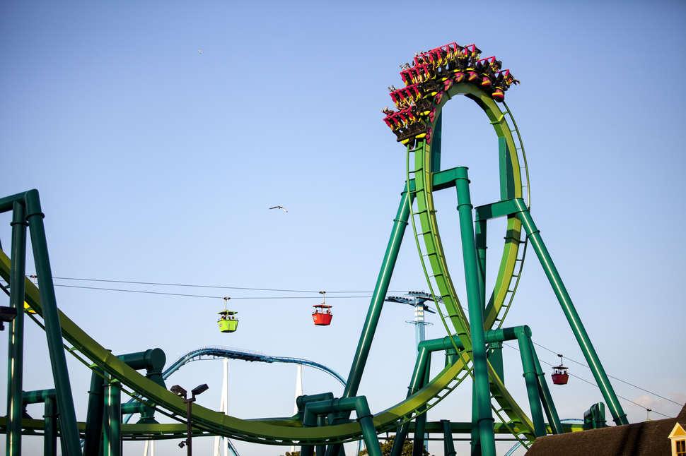 best cedar point roller coasters rides ranked thrillist