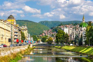 historic centre of Sarajevo