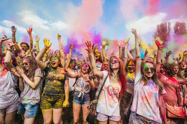 ColorFest in Kiev, Ukraine