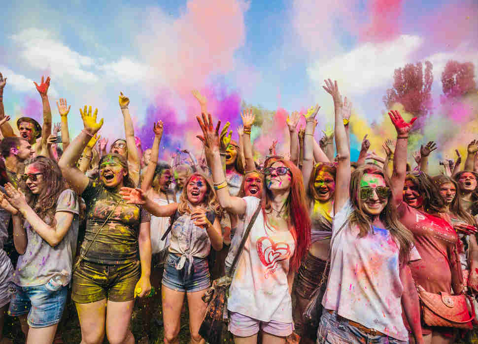 ColorFest in Kiev, Ukraine