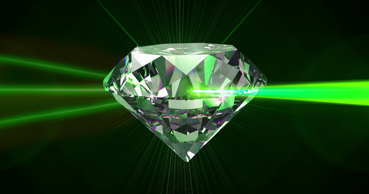 Lasers Are Great, But Diamond Superlasers Are Better, Here's Why