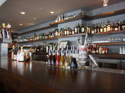 The bar at Jasper's Corner Tap & Kitchen