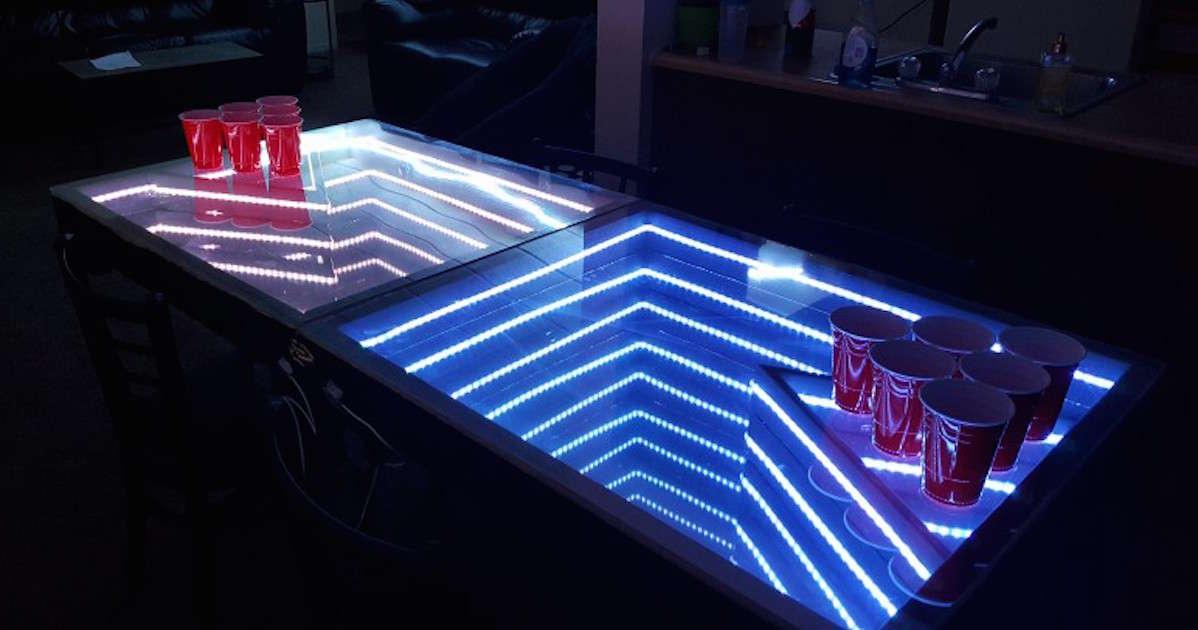 Astounding These Custom Beer Pong Table Ideas Are Pure Genius Thrillist Download Free Architecture Designs Pushbritishbridgeorg