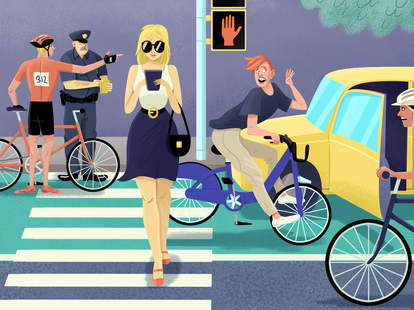 the unwritten rules of nyc bike-riding