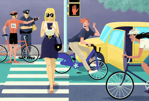 Bike Lane Chicago >> NYC Bike Etiquette: Unwritten Rules of Riding Your Bike in New York - Thrillist
