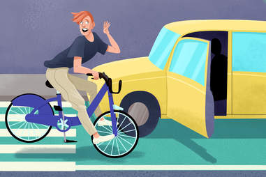 protect yourself from getting doored