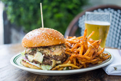 pub & kitchen buger