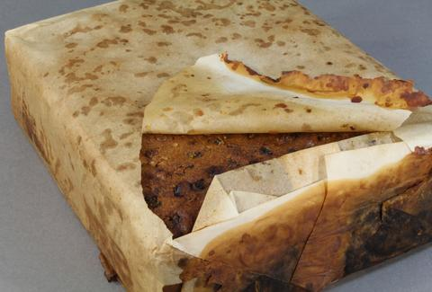 100 year old fruitcake