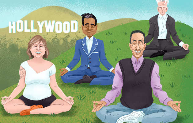 Inside the Blissed-Out, Tight-Lipped, Spiritual Movement That Has Hollywood Obsessed