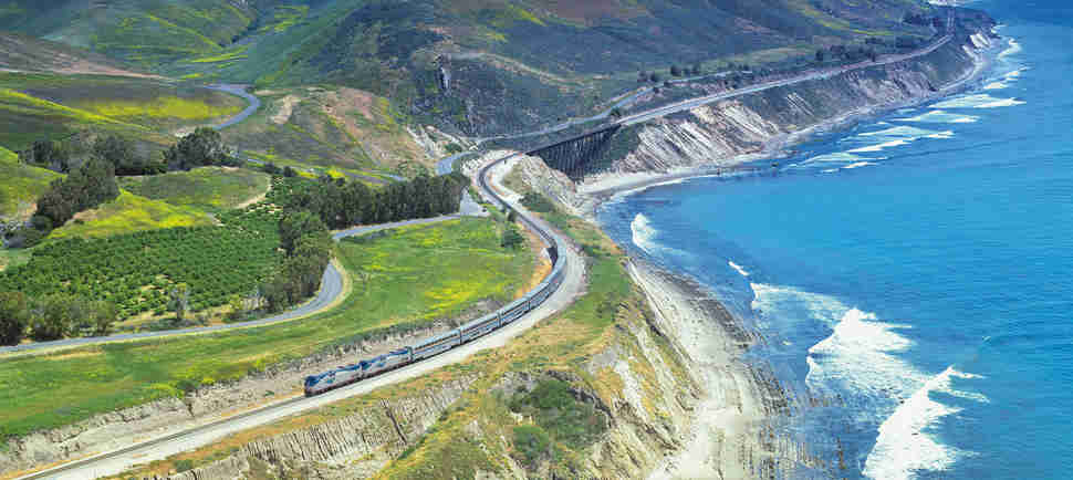 This $97 Train Ride Shows the Stunning Beauty of the West Coast