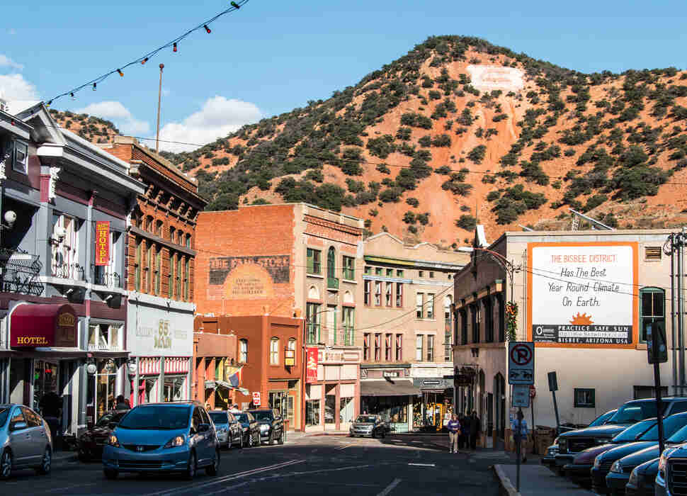 Downtown Bisbee, Arizona