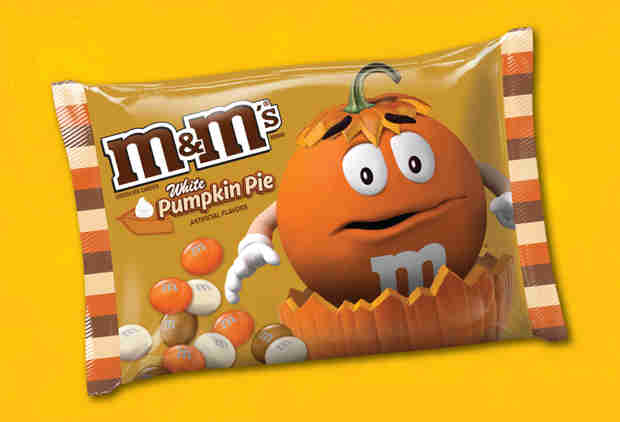 M&M's First-Ever Pumpkin Pie Flavor Just Hit Stores