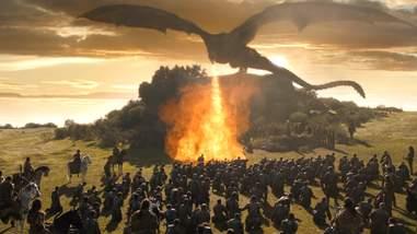 game of thrones season 7 dragon fire