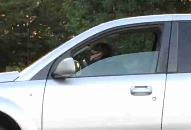 Dog Left in Car Honks at Owner to Hurry the Hell Up