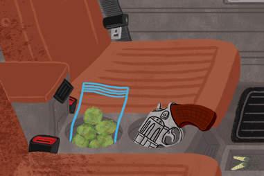 Drugs in rental cars