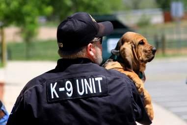 K9 dog and partner