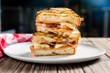grilled breakfast sandwiches
